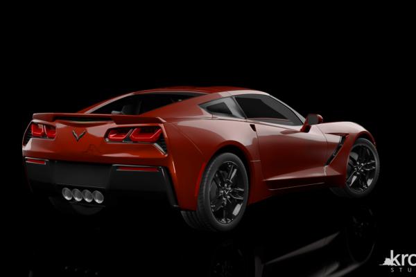 Back_Chevrolet_Corvette_marked