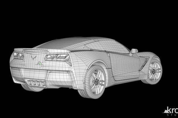 Back_wireframe_Chevrolet_Corvette_marked
