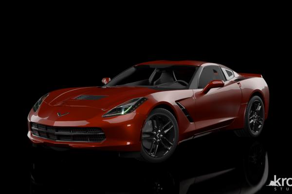 Front_Chevrolet_Corvette_marked